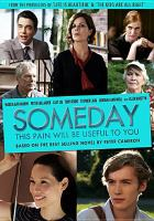 Cover image for Someday this pain will be useful to you