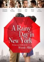 Cover image for A rainy day in New York [videorecording DVD]