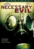 Cover image for Necessary evil