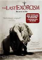 Cover image for The last exorcism