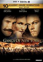Cover image for Gangs of New York