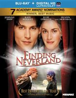 Cover image for Finding Neverland [videorecording Blu-ray]