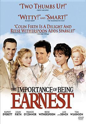 Cover image for The importance of being Earnest [videorecording DVD]