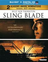 Cover image for Sling blade [videorecording Blu-ray]
