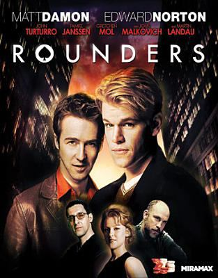Cover image for Rounders [videorecording Blu-ray]
