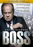 Cover image for Boss. Season 1, Complete