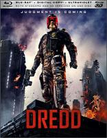 Cover image for Dredd [videorecording Blu-ray]