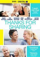 Imagen de portada para Thanks for sharing [videorecording DVD]