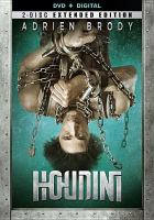 Cover image for Houdini [videorecording DVD] (Adrien Brody version)