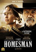 Cover image for The homesman [videorecording DVD]