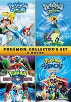 Cover image for Pokémon collector's set [videorecording DVD] : 4 movies.