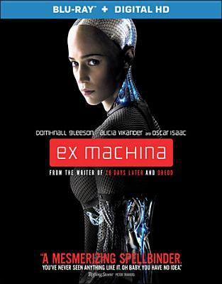 Cover image for Ex machina [videorecording Blu-ray]
