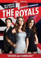 Cover image for The royals. Season 1, Complete [videorecording DVD]
