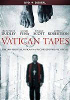 Cover image for The Vatican tapes [videorecording DVD]