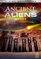 Cover image for Ancient aliens. Season 8, Complete [videorecording DVD].