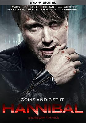 Cover image for Hannibal. Season 3, Complete [videorecording DVD]