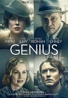 Cover image for Genius [videorecording DVD] (Nicole Kidman version)