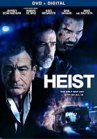 Cover image for Heist [videorecording DVD] (Robert De Niro)