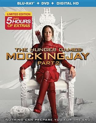 Cover image for The hunger games. Mockingjay, Part 2 [videorecording Blu-ray]