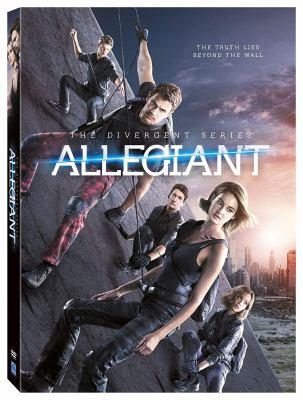 Cover image for Allegiant. Part 1 [videorecording DVD] : Divergent series