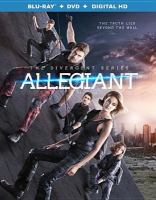 Cover image for Allegiant. Part 1 [videorecording Blu-ray] : Divergent series
