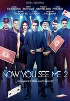 Cover image for Now you see me 2 [videorecording DVD]