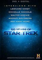 Cover image for 50 years of Star Trek [videorecording DVD]