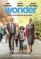 Cover image for Wonder [videorecording DVD]