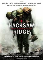 Cover image for Hacksaw Ridge [videorecording DVD]