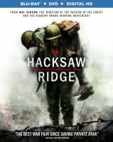Cover image for Hacksaw Ridge [videorecording Blu-ray]