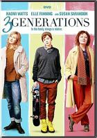 Cover image for 3 generations [videorecording DVD]