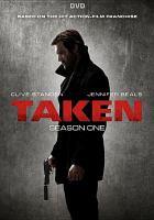 Cover image for Taken. Season 1, Complete [videorecording DVD] (Clive Standen version)