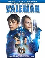 Cover image for Valerian and the city of a thousand planets [videorecording Blu-ray]