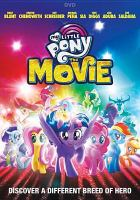 Cover image for My little pony : the movie [videorecording DVD] (Emily Blunt version)