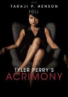 Cover image for Acrimony [videorecording DVD]