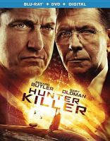 Imagen de portada para Hunter killer [videorecording Blu-ray]