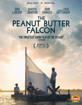 Cover image for The peanut butter falcon [videorecording Blu-ray]