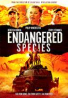 Imagen de portada para Endangered species [videorecording DVD]