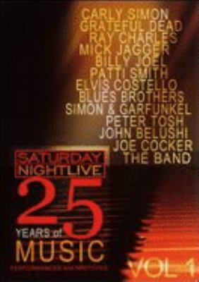 Cover image for Saturday night live. 25 years of music [videorecording DVD] : Performances and sketches