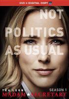 Cover image for Madam Secretary. Season 1, Complete [videorecording DVD]