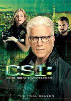 Cover image for CSI. Season 15, Complete [videorecording DVD] : Crime scene investigation, the final season
