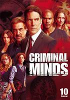 Cover image for Criminal minds. Season 10, Complete [videorecording DVD]