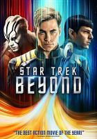 Cover image for Star trek. Beyond [videorecording DVD]