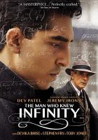 Cover image for The man who knew infinity [videorecording DVD]