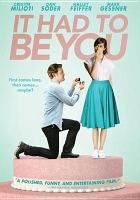Cover image for It had to be you [videorecording DVD] (Dan Soder version)
