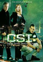 Cover image for CSI. Season 06, Complete [videorecording DVD] : Crime Scene Investigation