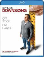 Cover image for Downsizing [videorecording DVD]