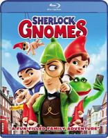 Cover image for Sherlock Gnomes [videorecording Blu-ray]