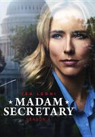 Cover image for Madam Secretary. Season 4, Complete [videorecording DVD]