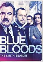 Cover image for Blue bloods. Season 9, Complete [videorecording DVD]